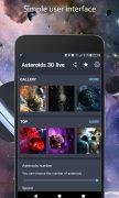 Астероиды 3D живые обои для Android