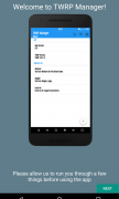 TWRP Manager для Android