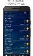 Прозрачные часы и погода для Android