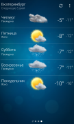 Погода — Weather для Android