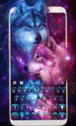 Neon Wolf Galaxy для Android