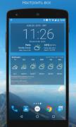 Виджет погоды и часов для Android