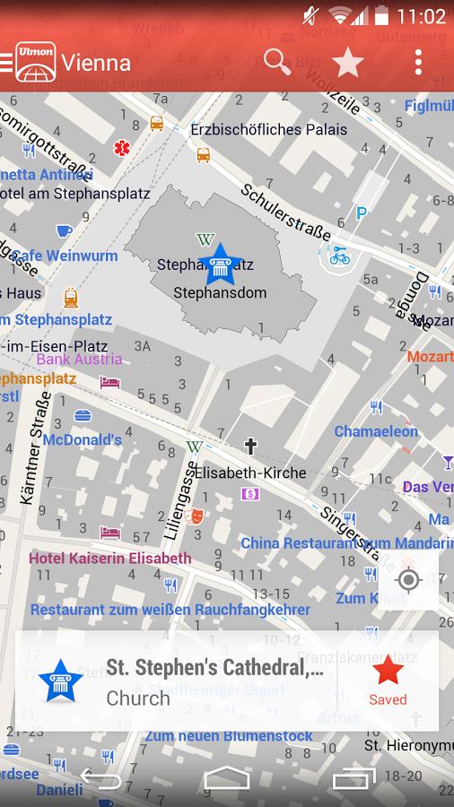 Ulmon City Maps 2go